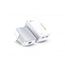 TP-LINK TL-WPA4220KIT V5 300Mbps AV600 Wi-Fi Powerline Extender Starter Kit